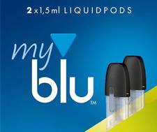 2 x 1.5 MY BLU EUCALYPTUS LEMON 0.8% / 9mg LIQUIDPODS - MYBLU