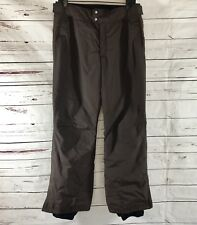 Columbia Titanium Omni Tech Womens Ski Snowboard Pants Brown Size S