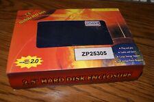 ZP25305 Purple IDE Interface to USB 2.0 External Hard Drive Mobile Case Kit