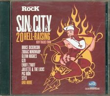 Sin City 20 Hell Raising - Bruce Dickinson/Styx/Gzr/Wolfmother/Gotthard Cd Ex