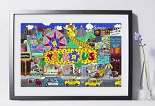 Toys R Us Store Art Reproduction 8x10