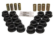 Energy Suspension 84-95 Corvette Rear Control Arm Bushing Set Black Polyurethane