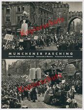 Altmünchen Stachus Karlstor Faschingszug Karneval Hofbräuhaus Bier Brauerei 1939