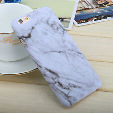 Hard PC Marble Granite Texture Glossy Case Cover For Apple iPhone 6 6S Plus