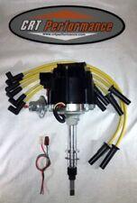 NEW Jeep AMC GM HEI Distributor + Plug Wires CJ5 CJ7 YJ 258 4.2L (1) WIRE HOOKUP