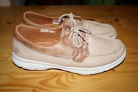 SKECHERS SEASHORE 14416 CANVAS CASUAL BOAT SHOES SNEAKERS WOMENS SIZE 10