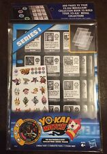 Yokai Series 1 Collector Book Pages With 1 Beetall Medal  New In Sealed Package
