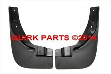 2008-2013 Nissan Rogue Front Mud Flaps Splash Guards GENUINE OEM NEW F3850-JM00A