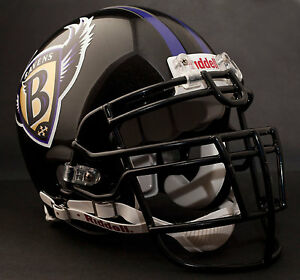 RAY LEWIS Edition BALTIMORE RAVENS 1996-1998 AUTHENTIC Throwback Football Helmet