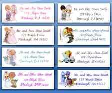 150 Personalized Custom Wedding Envelope Address Labels Many Graphics