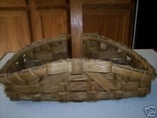 pattern for bow hearth basket