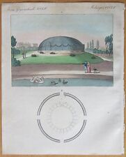 Bertuch: London Surrey Zoo - 1799