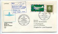 FFC 1973 Lufthansa PRIMO VOLO LH 978 Boeing 737 - Bremen Stoccarda
