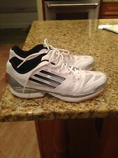 Adizero Crazy Volley Pro Women's Volleyball Shoes Size 11 White/silver/black