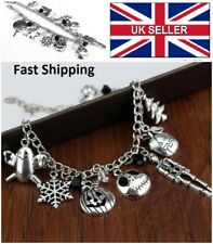 Nightmare Before Christmas Jack Skellington Sally Bracelet Gothic UK SELLER #A15