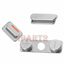 Side Mute Volume Key button Power Key 3 Button Parts for Apple iPhone 4 4G
