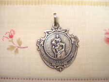 Médaille Religieuse ancienne S. Christophe - Christopher Religious Medal