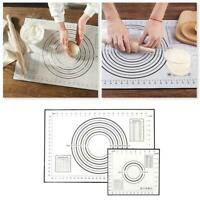 Silicone Non Stick Baking Mat Pad Dough Pastry Mats Kitchen Tools