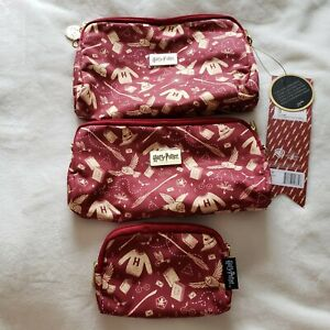 NWT Jujube Harry Potter Be Set Hogwarts Essentials Accessory Baby Bag Pouch