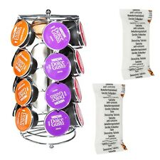 For Dolce Gusto Coffee Machines Pod Holder Capsule Stand + Free Descaler Tablets