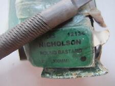"""Nicholson 12134 12"""" Round Bastard 300mm FILE"""