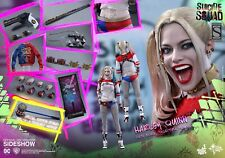 HOT TOYS 1/6 SUICIDE SQUAD HARLEY QUINN FIGURE EXCLUSIVE - NEW