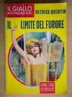Il limite del furore - Patrick Quentin - Giallo Mondadori, 1957