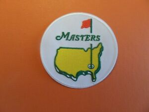"""THE MASTERS"" GOLF EMBROIDERED IRON ON PATCHES 3 X 3"