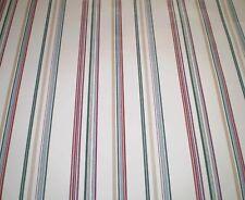 Thin Gray, Dark Green, Dark Red, & Beige Stripes on Cream by York SP7294