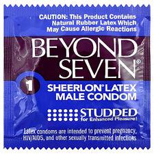 Okamoto Beyond Seven Studded Condoms - Choose Pack Size