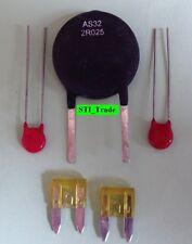 REPAIR KIT AS - AQUA-RITE Thermistor AS32 2R025, 2 V150LA2P Varistors. 20A Fuses