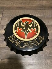 New listing 2But Bacardi Bottle Caps Metal Sign Bar Man Cave Wall Decoration