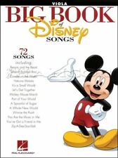 Big Book of Disney Songs Viola Sheet Music Book 72 Tunes SAME DAY DISPATCH