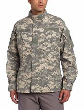 US Army Combat Uniform ACU Shirt Coat Digital Cammies used Large Regular LR L