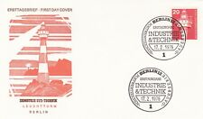 Berlin 1975 20pf Industry and Technology FDC unadressed VGC