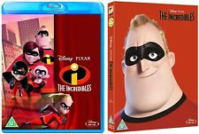 The Incredibles (Disney Pixar) Blu-Ray with special slipcover BRAND NEW FreeShip