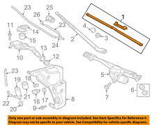 AUDI OEM 12-18 A6 Quattro Wiper Washer-Windshield-Blade 4G1998002A