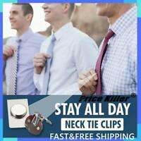 Tie Clip Tie Stay Tie Pin - Invisible Magnetic Tie Stay - Tie Clip