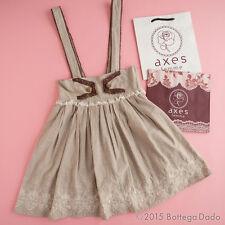 axes femme Classic Lolita Embroidered Suspenders Skirt Dress Antique Lolita C593