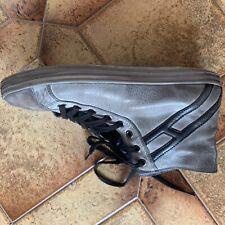 sneakers HOGAN grigio alte in pelle usato taglia 44