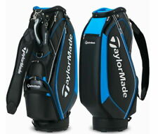 "TaylorMade 2021 SPORT MODERN Men's Golf Caddie Bag 9.5"" PU 5Way 7Lbs Ems / Black"