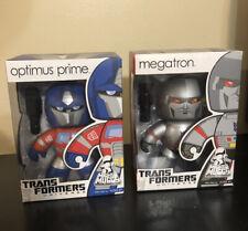 Mighty Muggs Transformers Lot! Optimus Prime! Megatron!