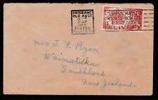 1953 PRE-DECIMAL STAMP COMMERCIALLY USED COVER CDC BRISBANE QLD #95