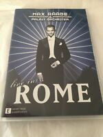 MAX RAABE & PALAST ORCHESTER LIVE IN ROME - PAL R0 - DVD VGC - *FREE STD POST*