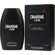 DRAKKAR NOIR 100ml EDT SPRAY FOR MEN BY GUY LAROCHE ---------------- NEW PERFUME