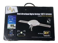 130 mile LAVA Omni Pro HD-8008 Outdoor TV Antenna - UHF/VHF/FM/SDTV/HDTV/4K