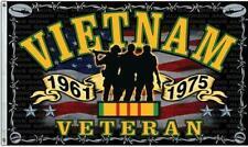Vietnam Veteran 3 X 5 Foot Flag Military Vet 3x5