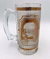 Dolly Parton Dollywood Amusement Park Stein Mug, Culver 22 KT Gold Glass USA