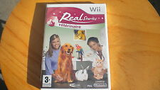 REAL STORIES : VETERINAIRE   !  JEU WII NEUF (emballé cel)