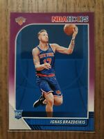 2019-20 Panini NBA Hoops PURPLE Parallel #235 Ignas Brazdeikis (RC)